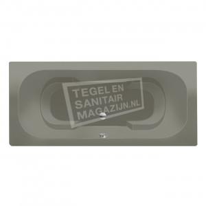 Xenz Tanga 180x90 cm duobad ergonomisch 300L Cement mat