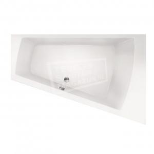 Xenz Palau 170x110 cm ligbad 195L rechts Wit glans