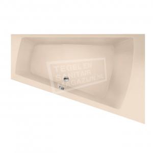 Xenz Palau 180x130 cm ligbad 245L rechts Creme mat