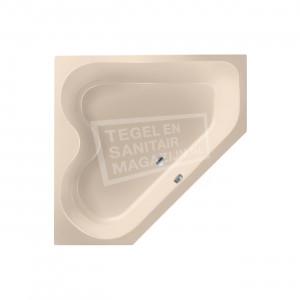 Xenz Cyprus 145x145 hoekbad 420L Creme mat