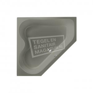 Xenz Cyprus 145x145 hoekbad 420L Cement mat