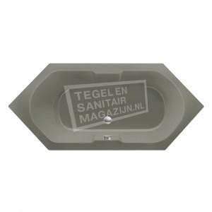 Xenz Antilla 190x80 cm ligbad 225L Cement mat