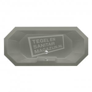 Xenz Sumba 190x90 cm duobad 270L Cement mat