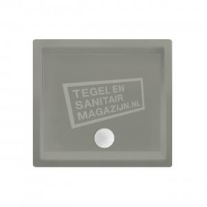 Xenz Society 80x80x12 cm douchebak acryl cement mat