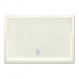 Xenz Society 90x80x12 cm douchebak acryl edelweiss mat