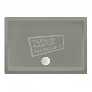 Xenz Society 90x80x12 cm douchebak acryl cement mat
