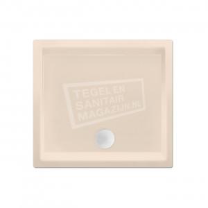 Xenz Society 90x90x12 cm douchebak acryl creme mat