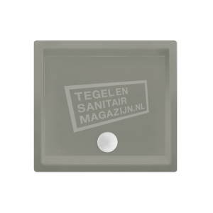 Xenz Society 90x90x12 cm douchebak acryl cement mat
