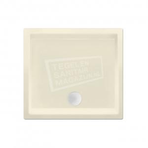 Xenz Society 90x90x12 cm douchebak acryl pergamon glans
