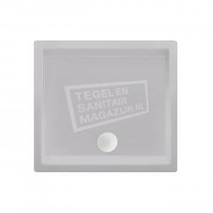 Xenz Society 90x90x12 cm douchebak acryl manhatten glans
