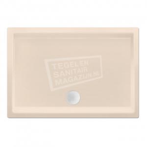 Xenz Society 100x70x12 cm douchebak acryl creme mat