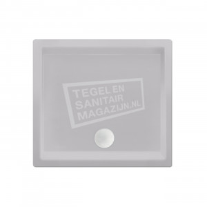 Xenz Society 100x100x12 cm douchebak acryl manhatten glans
