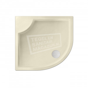 Xenz Bounty 80x80x4 cm douchebak kwartrond acryl pergamon glans