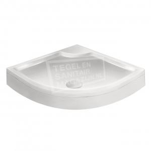 Xenz Bounty Cocos douchebak 100x100x19 cm met voorpaneel wit glans