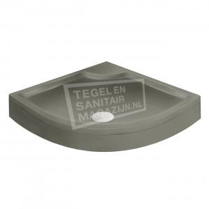 Xenz Bounty Cocos douchebak 100x100x19 cm met voorpaneel cement mat