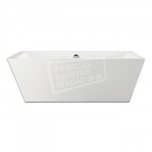 Xenz Donna 180x80x60 cm vrijstaand bad wit glans