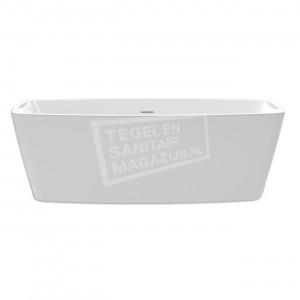 Xenz Moziek 155x80x57 cm vrijstaand bad wit glans