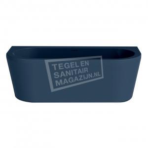 Xenz Charley 180x80x60 cm semi vrijstaand bad donker blauw glans