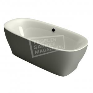 Xenz Daan 180x80x60 cm vrijstaand bad edelweiss en cement