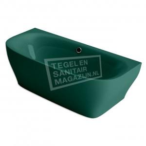 Xenz Dion 180x80x60 cm semi vrijstaand bad racing groen glans