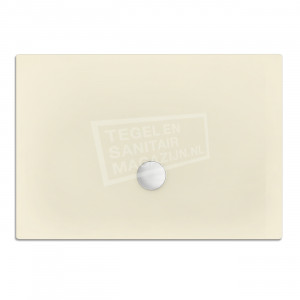 Xenz Flat zelfdragende douchebak 120x90x3.5 cm acryl pergamon glans